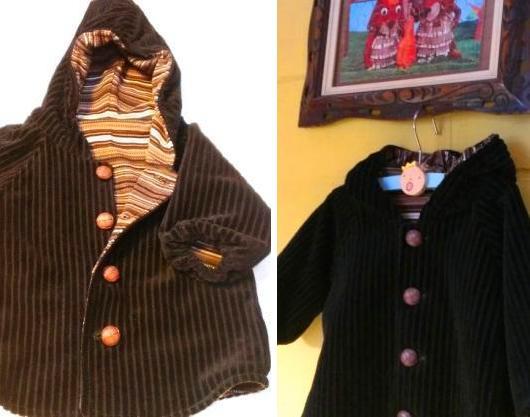gevoerd babyjasje in tricot