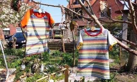 jongens-t-shirt met korte mouw maat 116