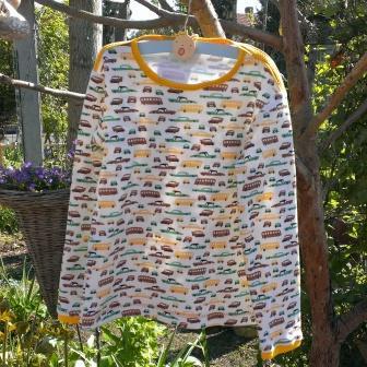 jongens-t-shirt met lange mouw maat 116