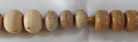grote houten kralen