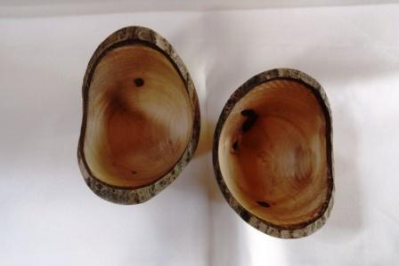 houten kom natural edge