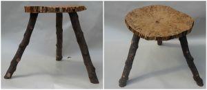 houten bijzettafeltje