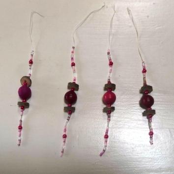 kralenpendels voor in de kerstboom