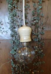 houten lamp - handwerk - magnolia