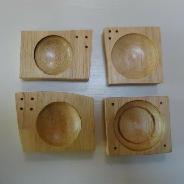 houten presenteerschaaltjes