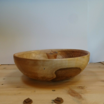 houten kom - handwerk