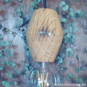 houten lamp - eik