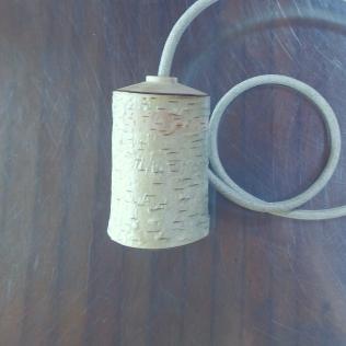 houten lampfittng handwerk