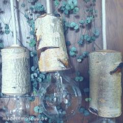houten lampfitting handwerk