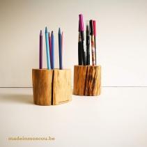 houten pennenhouders