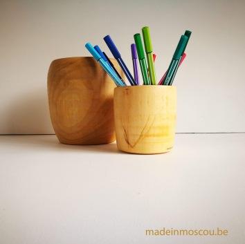 houten bekers