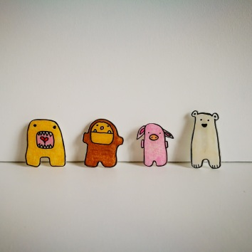 pins krimpfolie cute animals