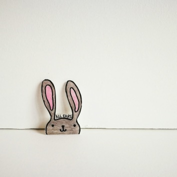 pins konijn krimpfolie